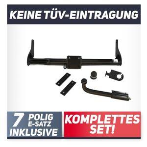Fuer-Renault-Kangoo-I-KC-ausser-Maxi-97-08-Anhaengerkupplung-starr-E-Satz-7p