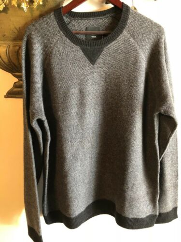 Vince Nuevo Cashmere Sweater Xl Size Crewneck Grey SqdUqT