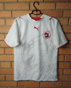 Switzerland Jersey 2006 Shirt Away MEDIUM Football Soccer Puma Trikot Maglia
