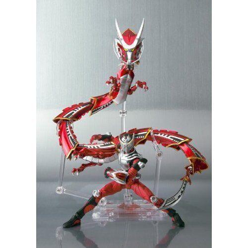 Bandai S.H. Figuarts enmasCocheado Kamen Rider Ryuki y dragrojoer figura Set