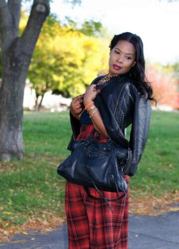 Lookbook Zara Midi Rouge 7xz6pvnp Carreaux Taille M Jupe Froncé LAj4c3Rq5