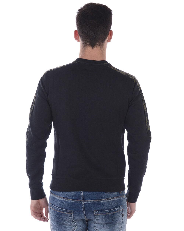 Felpa Emporio Armani EA7 Sweatshirt Grigio Hoodie Cotone Uomo Grigio Sweatshirt 6YPM77PJF3Z 3516 c212b0