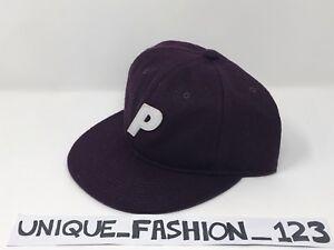 0d624666116a PALACE SKATEBOARDS FW16 PURPLE WOOL STADIUM 6 PANEL CAMP CAP P HAT ...