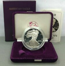 1986-S ~ UNITED STATES ~ PROOF ~ SILVER EAGLE ~ FIRST YEAR OF ISSUE ~ WITH COA