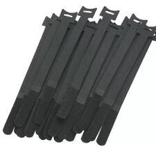 25Pcs Magic Stickers Ties Cable Cord Organizer Straps Reusable Die Cut Straps