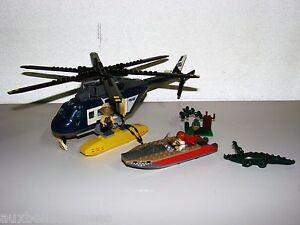 Sur Poursuite Ref Lego En Jouet City Hélicoptère Détails 60067 Police 3A5RL4j