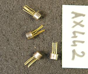 Lot de 4 x BFY81C  transistor SGS Thomson  ( AX442 )