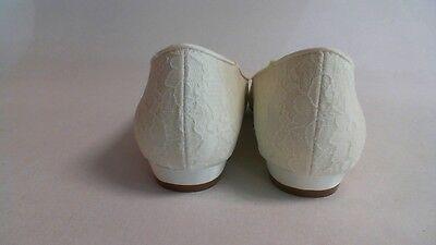 Nuevo Traje de Novia/de noche: retoques Zapatos-Yvette-Marfil-US 8.5 M-UK 6.5 #18R419