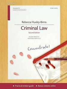 nutcases criminal law revision aid and study guide