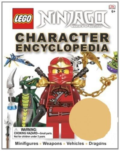 LEGO Ninjago: Character Encyclopedia - Hardcover - NO MINI FIG