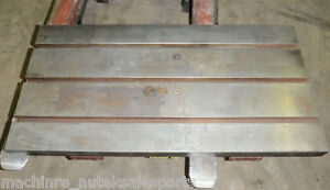 39 5 Quot X 20 Quot Steel Welding T Slotted Table Cast Iron Layout