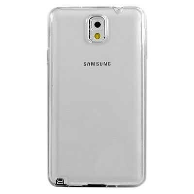 Crystal Clear Silicon TPU Soft Full Cover Case For Samsung Galaxy Note 3. New