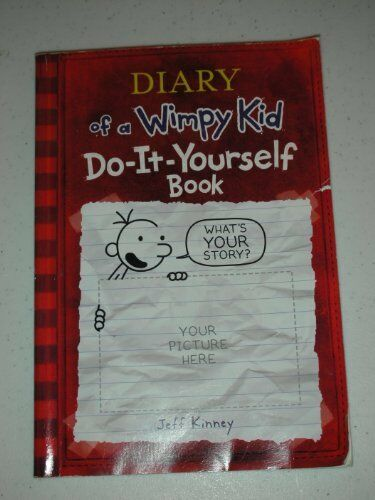 Diary of a wimpy kid do it yourself book 2008 by jeff kinney diary of a wimpy kid do it yourself book by jeff kinney solutioingenieria