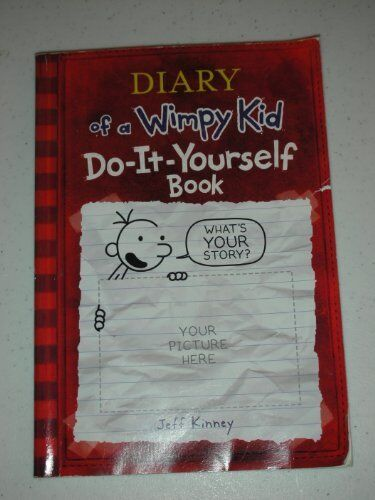 Diary of a wimpy kid do it yourself book 2008 by jeff kinney diary of a wimpy kid do it yourself book by jeff kinney solutioingenieria Gallery