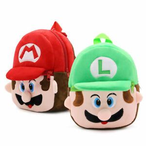 2017-New-Mario-Luigi-Kindergarten-School-Bag-Kid-039-s-Backpack-23-21-9CM-Gift