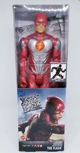 NIB-DC-Justice-League-034-The-Flash-034-Metallic-Armor-Posable-Action-Figure-Toy