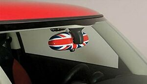 MINI NEW OEM COOPER R52 R53 R55 R56 R57 R60 UNION JACK INTERIOR MIRROR COVER