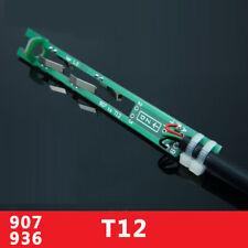 Pluggable T12 Iron Tip Holder Bracket For Hakko 936 907 Soldering Iron Handle
