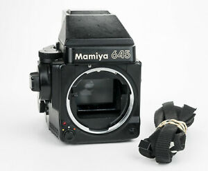 Mamiya 645 super body film medium format camera mamiya sekor lenses
