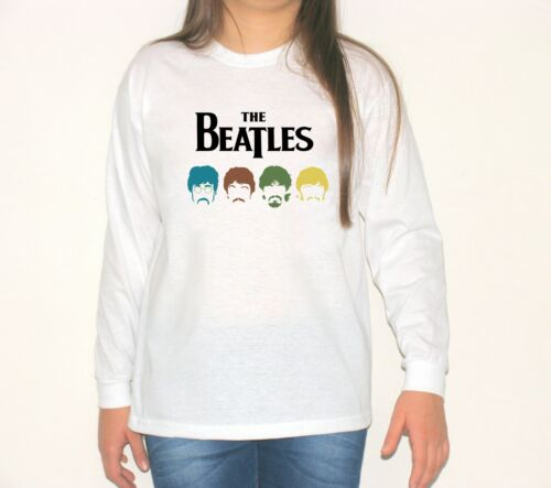 THE BEATLES long sleeve t-shirt model:4 children blouse kid shirt size:3-11years