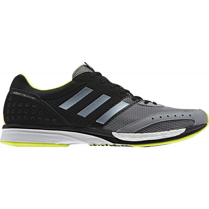 Mens Adidas Adizero Takumi Ren Boost 3 Mens Running shoes - Grey