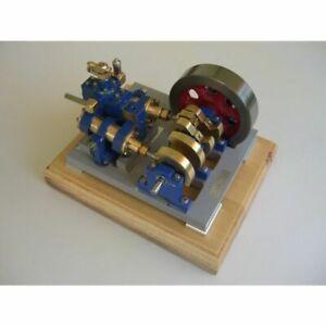Bauplan 2-Zylinder-V-Dampfmaschine Modellbau Modellbauplan