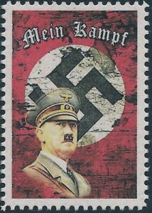 Stamp-Replica-Label-Germany-0093-WWII-German-Fuhrer-Hitler-My-Horrible-Life-MNH