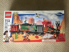 LEGO 7597 Western Train Chase New Sealed Retired 2010 Toy Story NIB.
