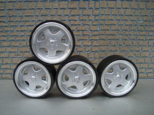 1:18 VW Echt Alu Felgen Audi VW Mercedes Opel BMW Tuning
