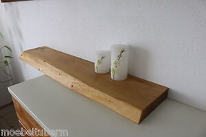 Wandboard Akazie Massiv Holz Board Regal Steckboard Regalbrett