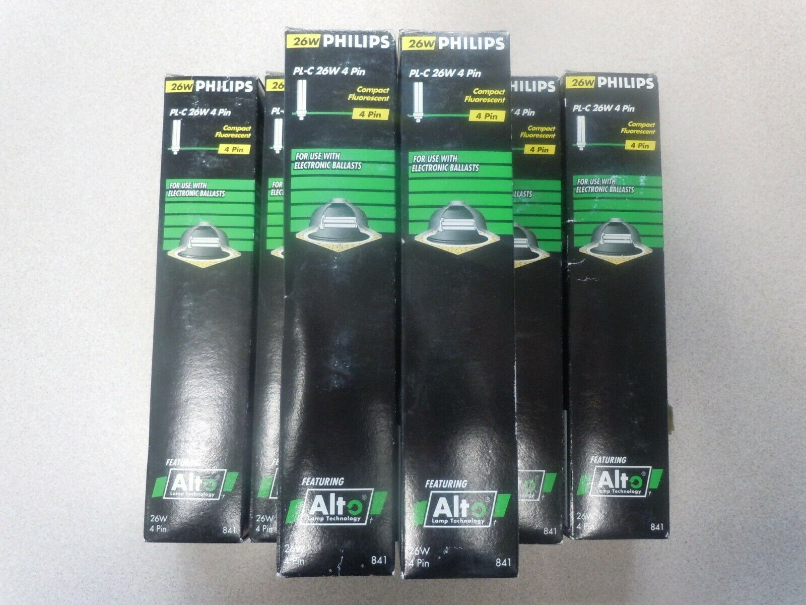 7- Philips PL-C 26W 827 4P ALTO 26-Watt Compact Fluorescent Lamp Bulb 4-Pin
