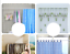 Extendable-Spring-Telescopic-Voile-Tension-shower-Curtain-Rod-Rail-Loaded-Pole miniature 6