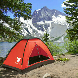 Hot Backpacking Tent for One Person Hiking Camping Tent Pop Up Sun Shelter Good