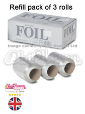 Procare Silver Premium Hair Foil Refill pack of 3 rolls 100mm x 100m