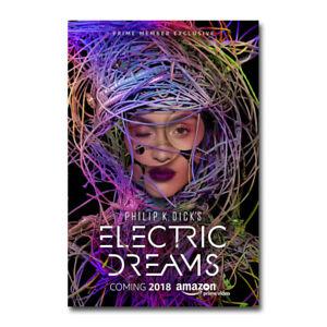 Electric Dreams TV Series Art Silk Canvas Poster Print 24x36 inch Home Decor