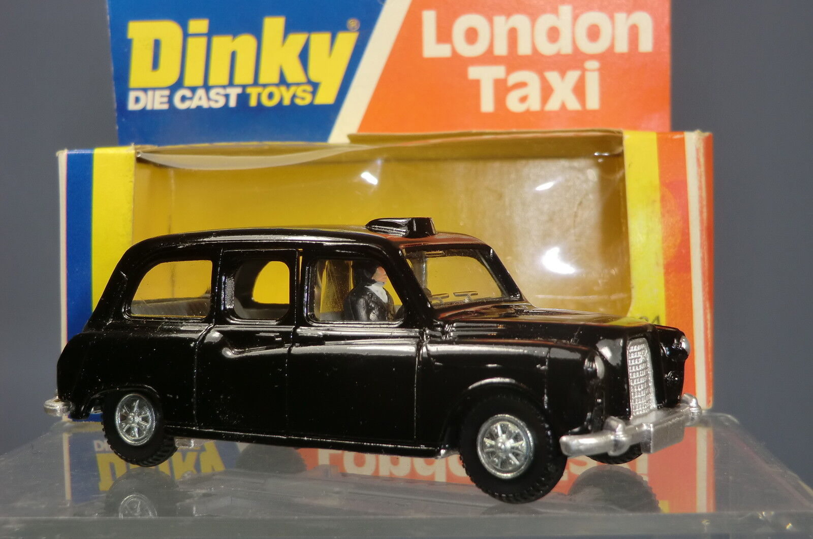 DINKY TOYS MODEL MODEL MODEL No.284  FX4   LONDON TAXI     MIB 41e39e
