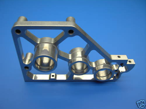 Lauterbacher ALU-Piastra di ingranaggi per Reely carbonio Fighter Pro