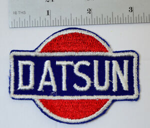 DATSUN-nissan-Embroidered-Cloth-Sew-On-Patch-Car-Auto-Hot-Rat-Rod-Vtg