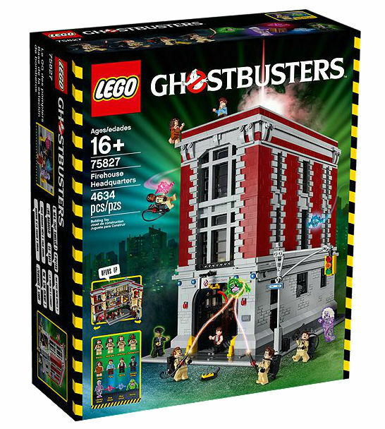 LEGO Ghostbusters Firehouse Headquarters (75827) NEW SEALED BOX