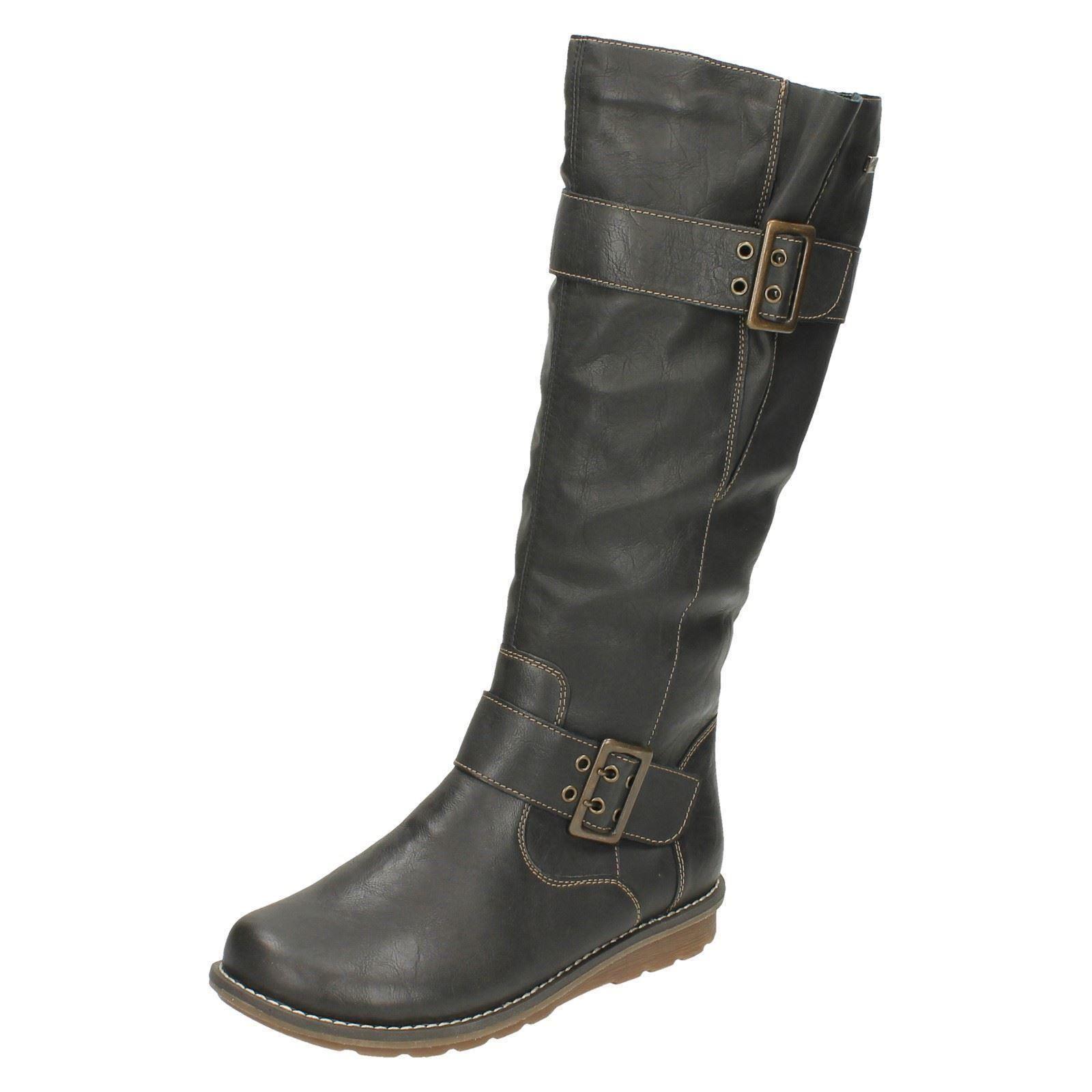 Mujer Remonte Remonte Remonte Forro Cálido botas Altas - R1073  a la venta