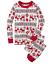 Family Matching Adult Kids Christmas Pyjamas Set Xmas Nightwear Pajamas PJs Sets