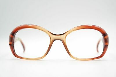 Diskret Vintage Cobra 117218 5219 50[]22 130 Braun Oval Brille Eyeglasses Nos