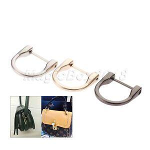 2pcs Wood Handbag Handle Holder Part DIY Purse Bag Accessories