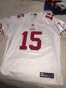 Details about Reebok Authentic NFL San Francisco 49'ers Michael Crabtree Jersey Mens 52 $300