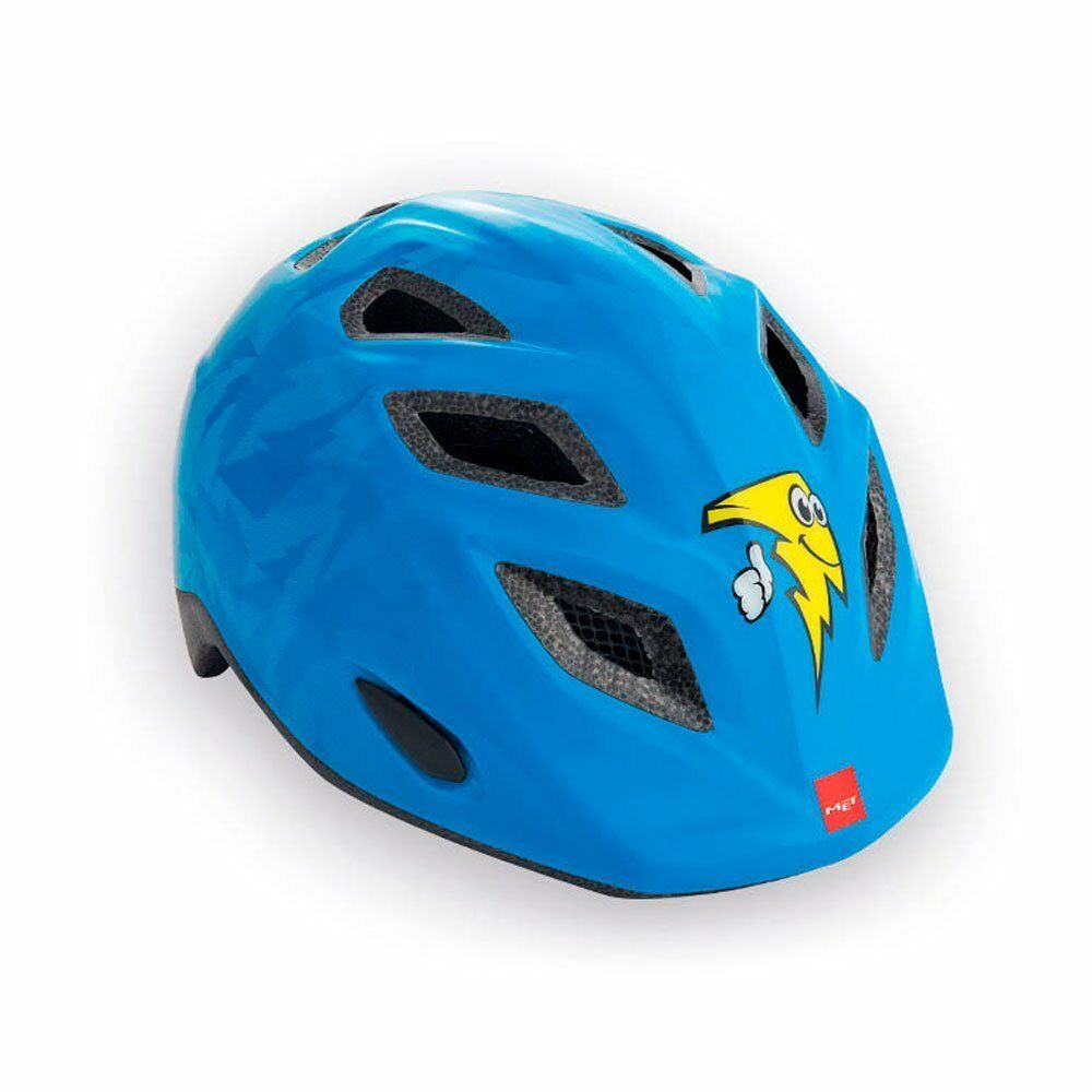Casque enfant MET GENIO blue avec LED size 52-57 PRIX MAGA