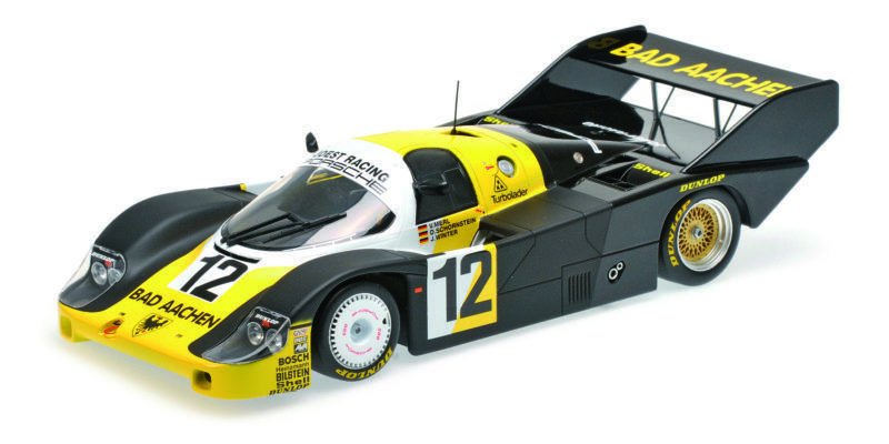 Porsche 956k bad  Aachen merl schornstein winner 1000 km monza 1984 1 18 model  première réponse