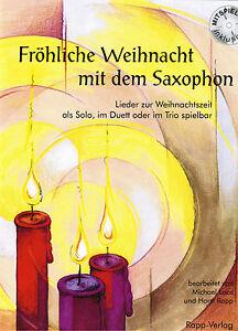 Altsaxophon-Noten-Froehliche-Weihnacht-mit-dem-Saxophon-Alt-in-Es-mit-CD