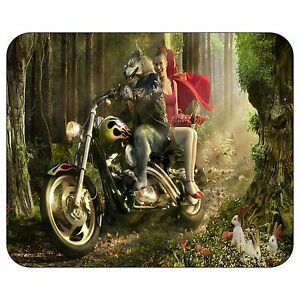 Redcap-And-The-Evil-Wolf-Mousepad-Mouse-Pad-Mat