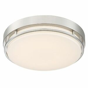 Image Is Loading Altair Lighting Led 14 Inch Flush Mount Fixture