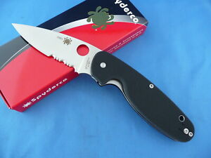 Spyderco-C245GPS-Emphasis-Knife-Black-G-10-8Cr13MoV-Combo-Edge-Collector-156V